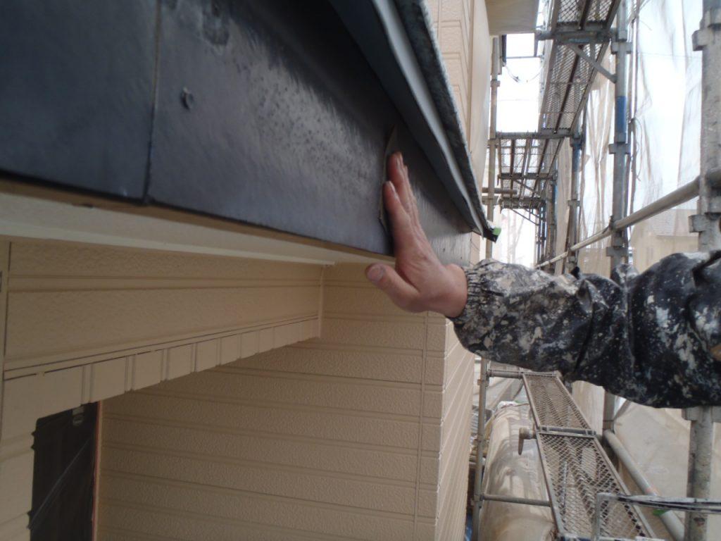 埼玉県,さいたま市外壁塗装,屋根,外壁,塗装,水性ペリアート,高級感,重厚感,高品質,オーバーコート,独自,最高品質,破風ケレン