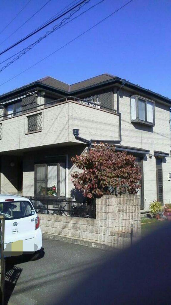 さいたま市外壁塗装,埼玉県川越市,外壁塗装,屋根塗装,ガイナ,遮断熱塗料,家の塗り替え,雨戸塗装,施工前