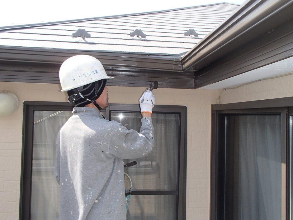 さいたま市外壁塗装,埼玉県川越市,外壁塗装,屋根塗装,ガイナ,遮断熱塗料,家の塗り替え,破風塗装