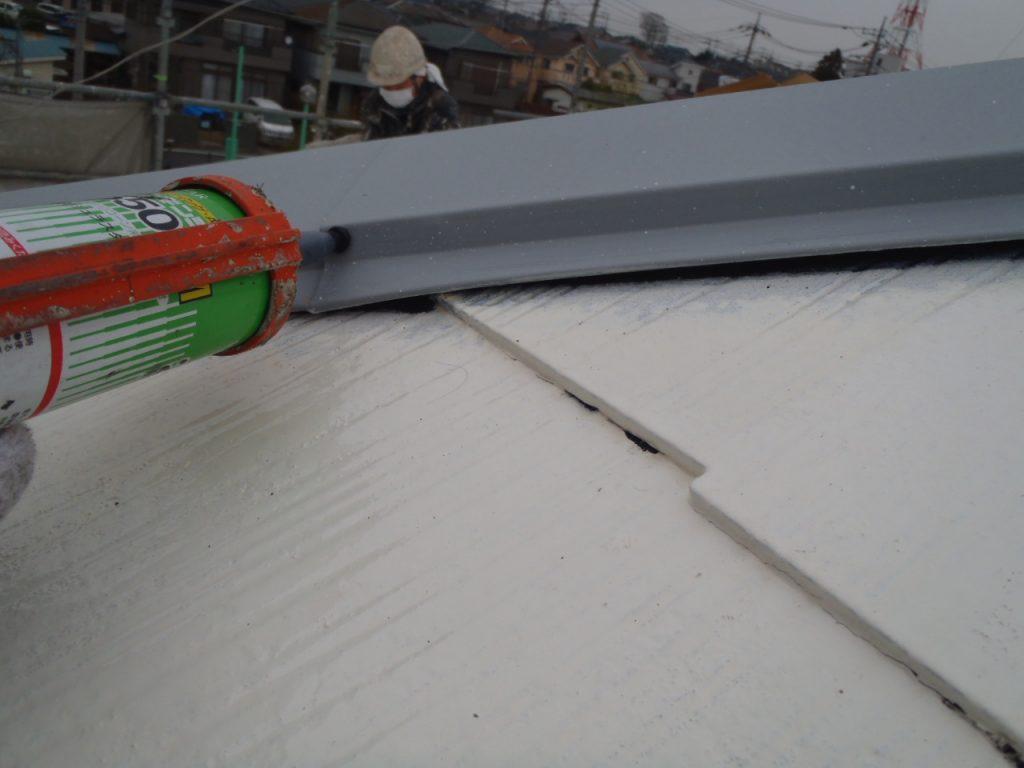 埼玉県,さいたま市外壁塗装,屋根,外壁,塗装,水性ペリアート,高級感,重厚感,高品質,オーバーコート,独自,最高品質,棟板金釘頭シーリング