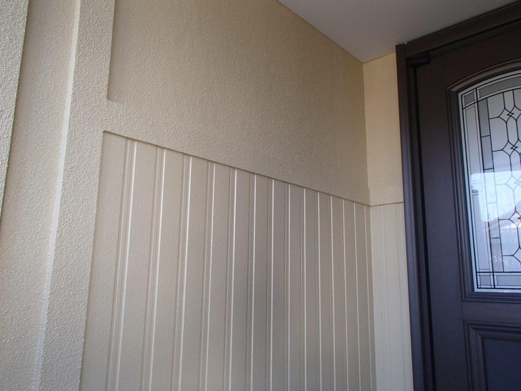 さいたま市,塗り替え一般住宅,家塗り替え,埼玉県,塗り替え,外壁塗装,外壁サイディング塗装,遮断熱塗料ガイナ,さいたま市外壁塗装,屋根外壁塗装,シーリング,ひび割れ補修,タスペーサー,サイワ塗装工業,下地処理,ベージュ,日進産業ガイナ,施工認定店,家の塗り替え