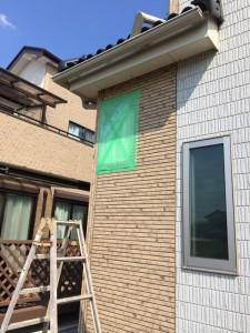 さいたま市外壁塗装,さいたま市,外壁サイディング破損,施工前