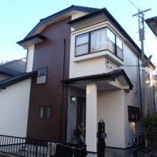 さいたま市,さいたま市塗り替え,一般住宅,家塗り替え,埼玉県,塗り替え,外壁塗装,外壁サイディング塗装,遮断熱塗料ガイナ