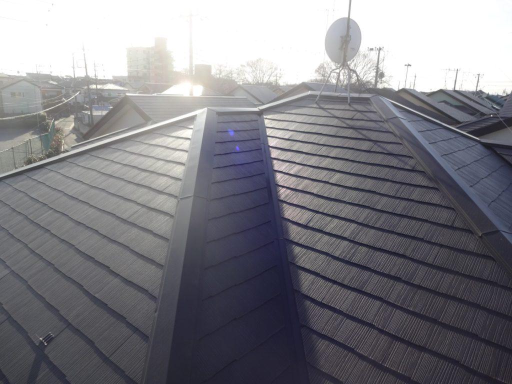 埼玉県,さいたま市,外壁塗装,雨漏り,UVプロテクトクリアー,サイディングクリアー塗装,さいたま市西区,屋根塗装,遮熱,施工後