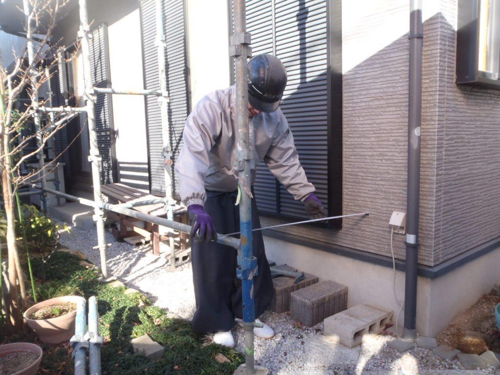 さいたま市外壁塗装 埼玉外壁塗装 仮設足場 雨漏り