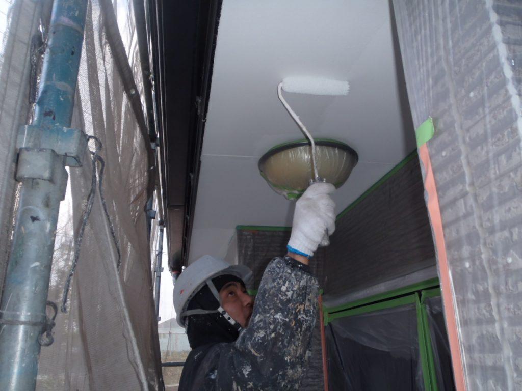 軒天塗装 さいたま市外壁塗装埼玉外壁塗装