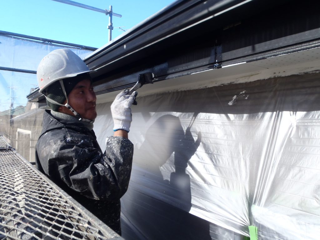 破風板塗装さいたま市外壁塗装 埼玉外壁塗装