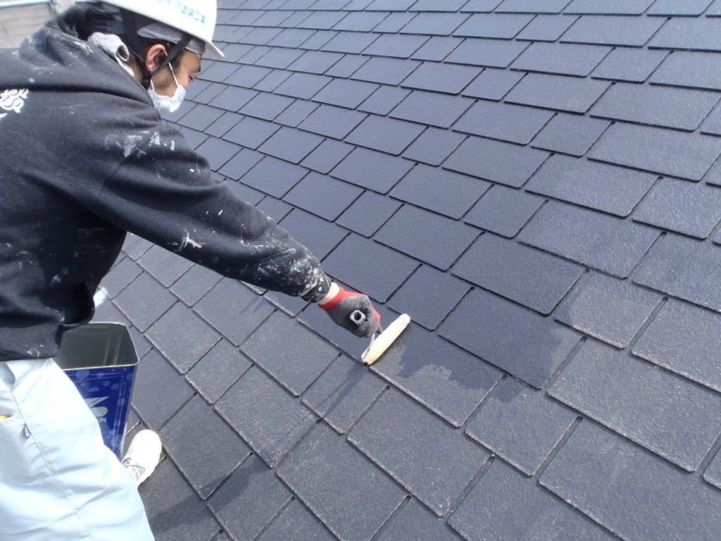 さいたま市,さいたま市塗り替え,一般住宅,家塗り替え,埼玉県,千葉県塗り替え,屋根の下塗り