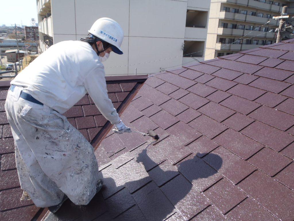 さいたま市,さいたま市塗り替え,一般住宅,家塗り替え,埼玉県,千葉県塗り替え,屋根上塗り