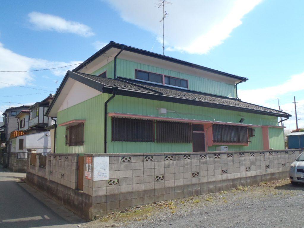 蓮田市,さいたま市外壁塗装,家の塗り替え,屋根外壁塗り替え,カラフルなお家,施工後