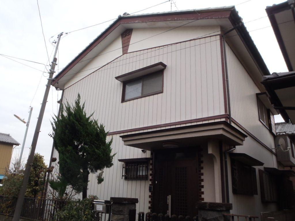 さいたま市,さいたま市外壁塗装,家の塗り替え,屋根外壁塗り替え,さいたま市西区,金属サイディング