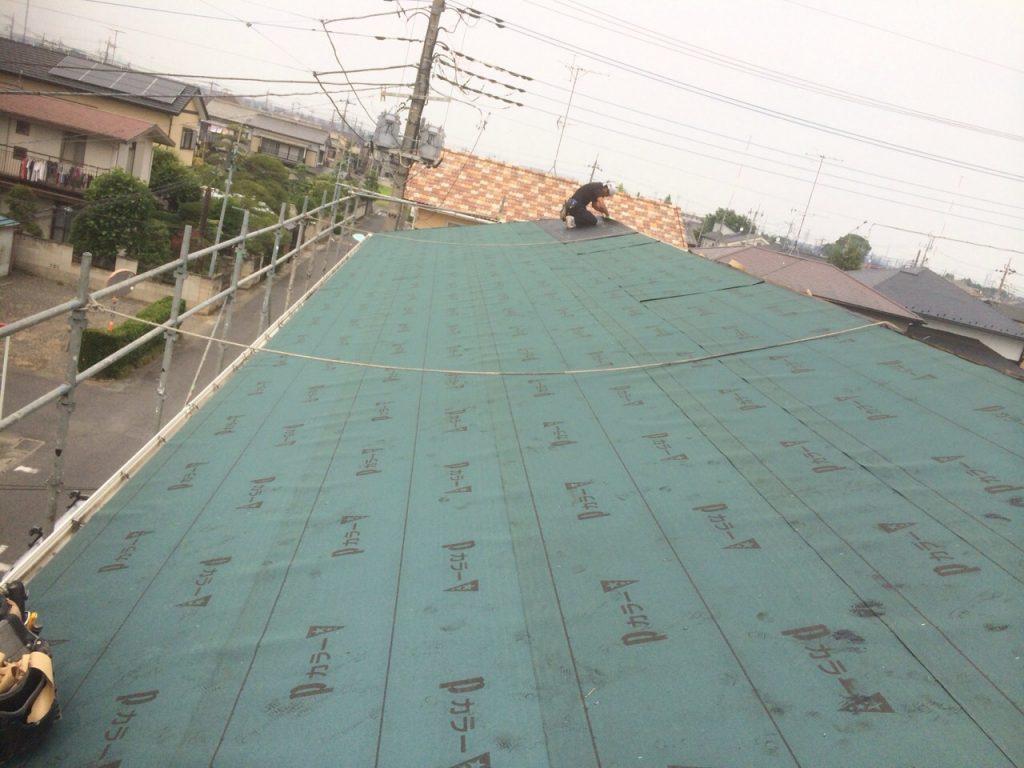 久喜市,さいたま市,屋根の葺き替え,アパート,雨漏り