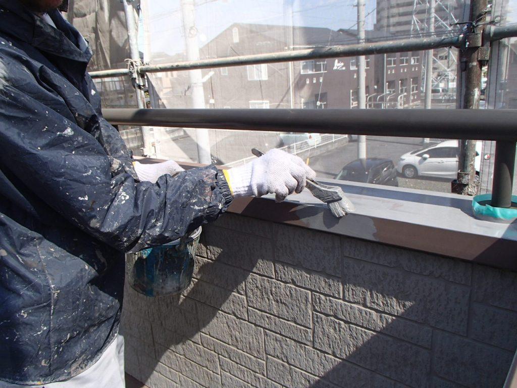 さいたま市外壁塗装,埼玉県川越市,外壁塗装,屋根塗装,ガイナ,遮断熱塗料,家の塗り替え,ベランダ錆止め