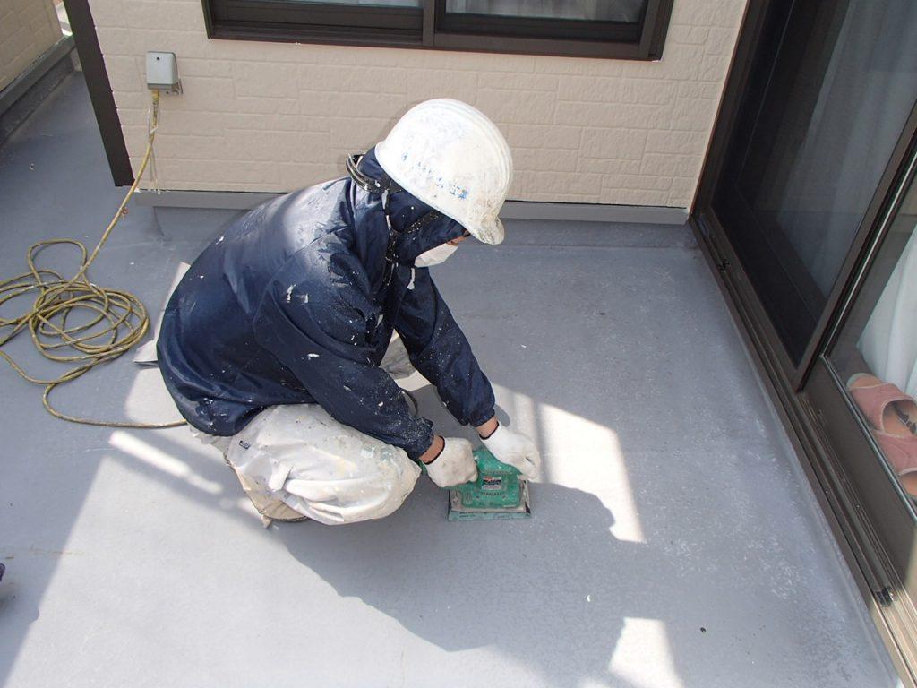 さいたま市外壁塗装,埼玉県川越市,外壁塗装,屋根塗装,ガイナ,遮断熱塗料,家の塗り替え,ベランダ防水ケレン