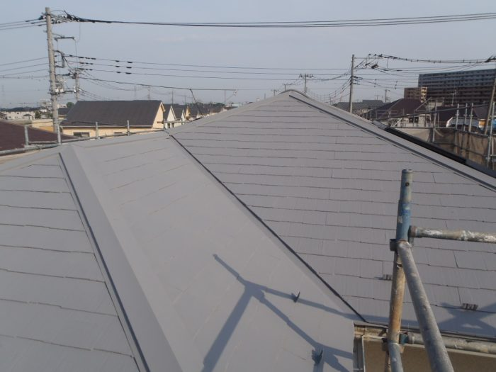 埼玉県,さいたま市,さいたま市西区,屋根外壁塗装,さいたま市外壁塗装,外壁塗装,屋根塗装,遮断熱塗料ガイナ,ガイナ,施工後