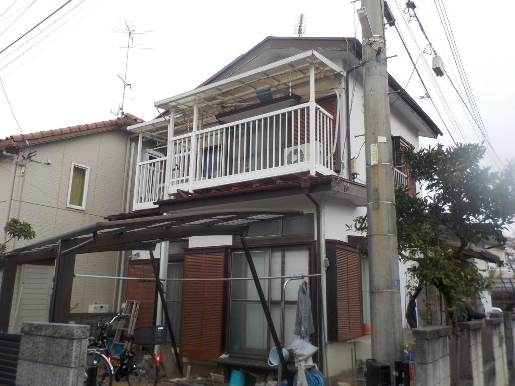埼玉県,さいたま市外壁塗装,塗装専門店,評判,屋根塗装,埼玉県上尾市,家の塗り替え,塗装,白,家の塗り替え