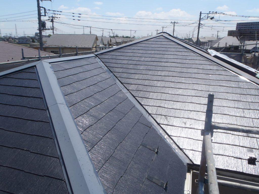 埼玉県,さいたま市,さいたま市西区,屋根外壁塗装,さいたま市外壁塗装,外壁塗装,屋根塗装,遮断熱塗料ガイナ,ガイナ,下塗り