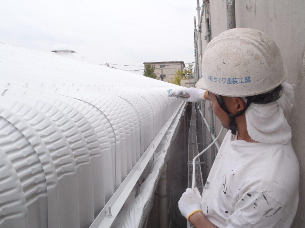 さいたま市外壁塗装,埼玉県外壁塗装,東京都江東区,工場屋根塗装,GAINA,施工認定店,GAINA屋根塗装,サイワ塗装工業,さいたま市屋根塗装,シーリング,断熱,工場塗装
