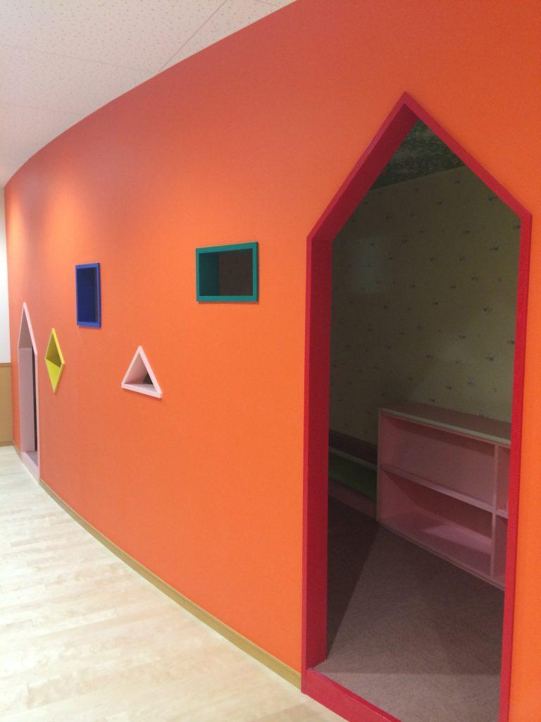 室内塗装 カラフル塗装