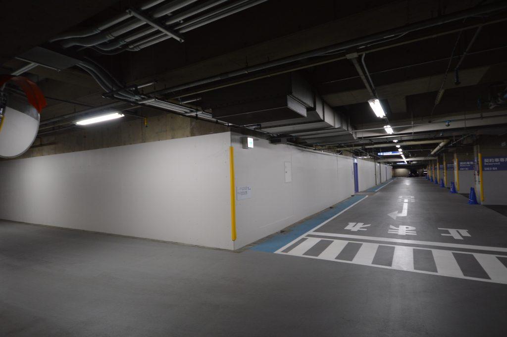 埼玉県,さいたま市大宮区,大規模,駐車場内壁塗装,さいたま市塗装,外壁塗装,大宮ソニックシティ,駐車場塗装工事,屋根外壁塗装