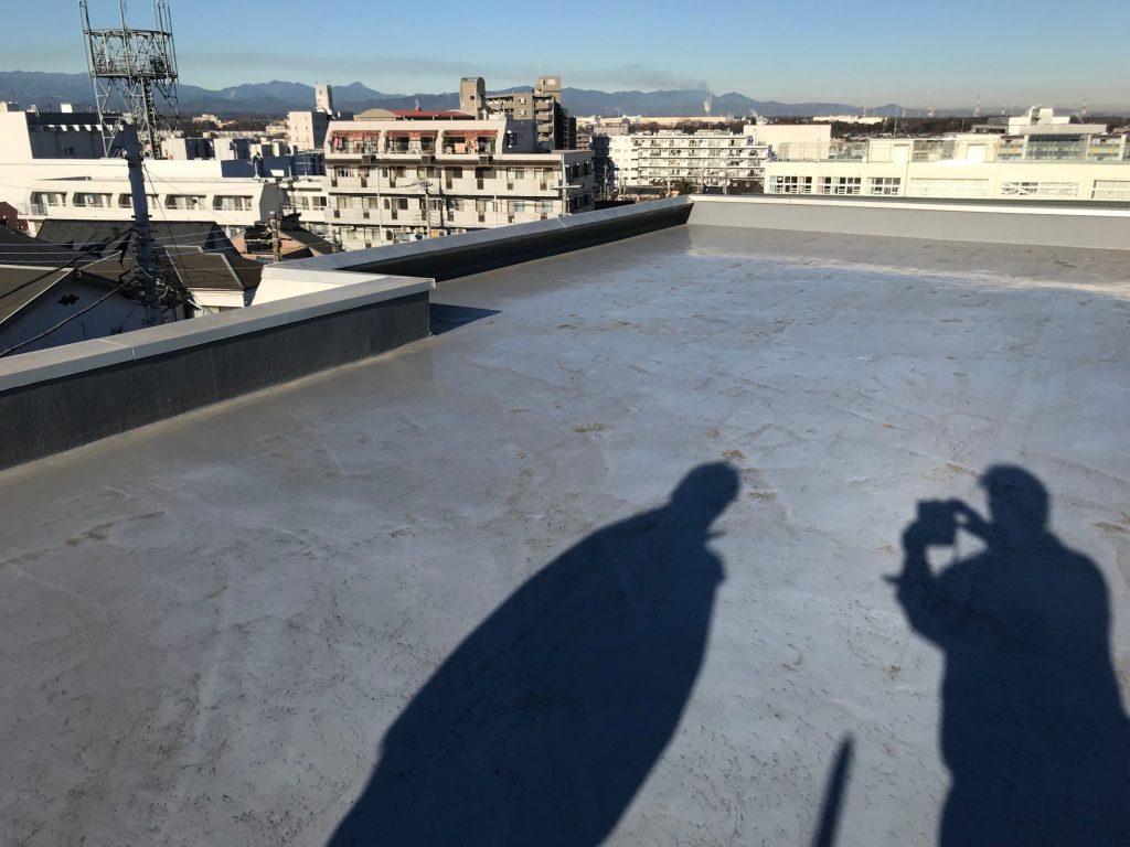 屋上防水工事施工前