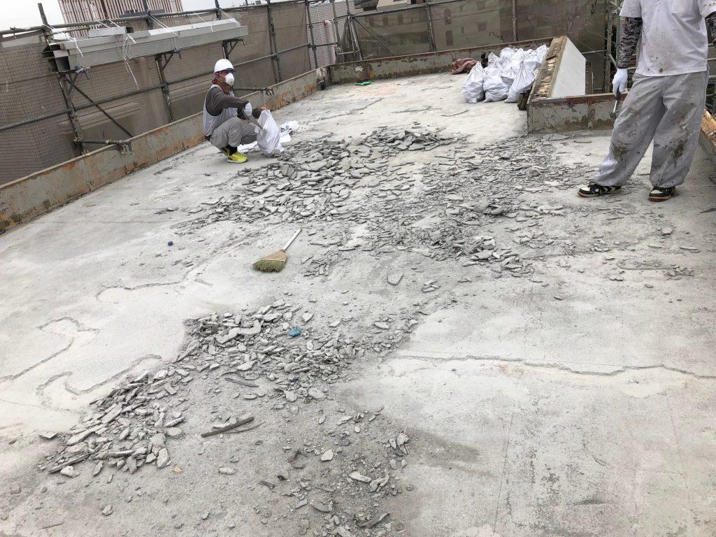 狭山市屋上防水工事
