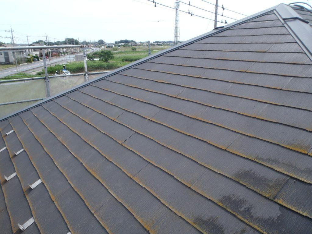 屋根施工前状況