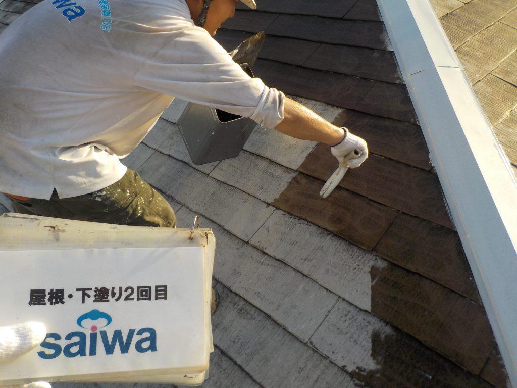 さいたま市ガイナ屋根塗装