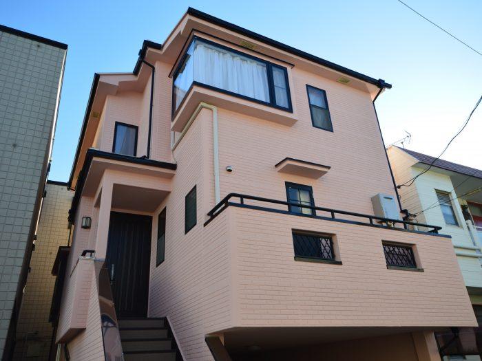 ガイナさいたま市外壁塗装 住宅塗り替え 日進産業