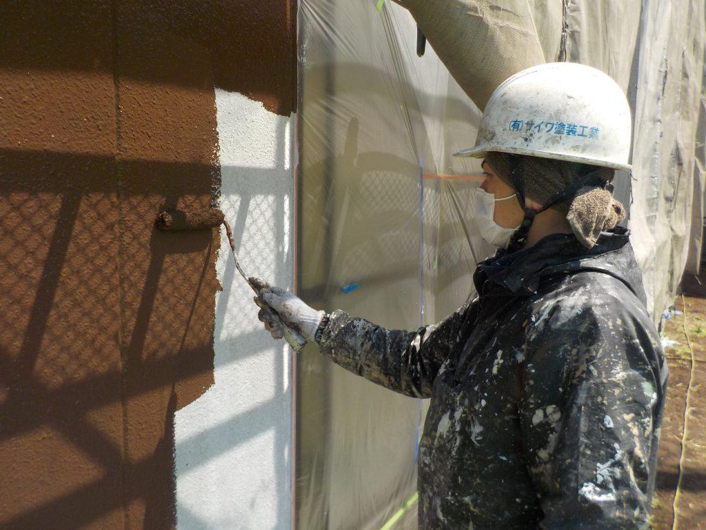 マンション外壁塗り替え