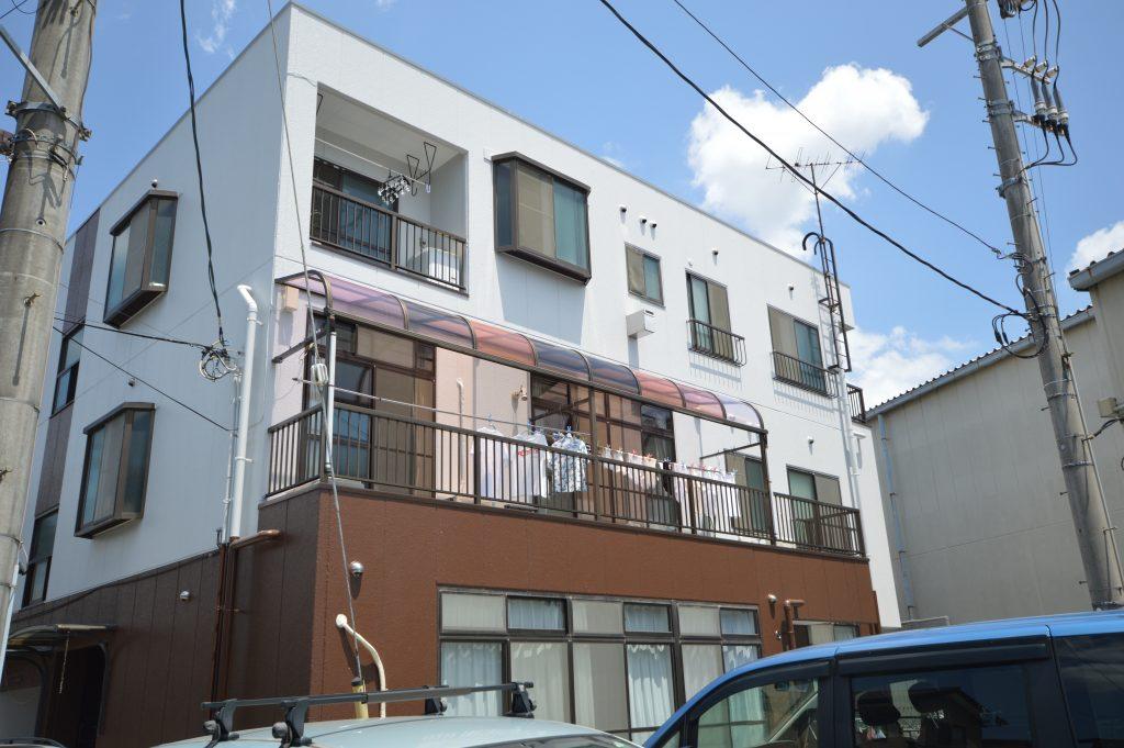 さいたま市南区 マンションアパート塗装