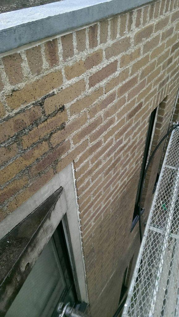 煉瓦タイル薬品洗浄 さいたま市タイル洗浄 マンション アパート改修工事