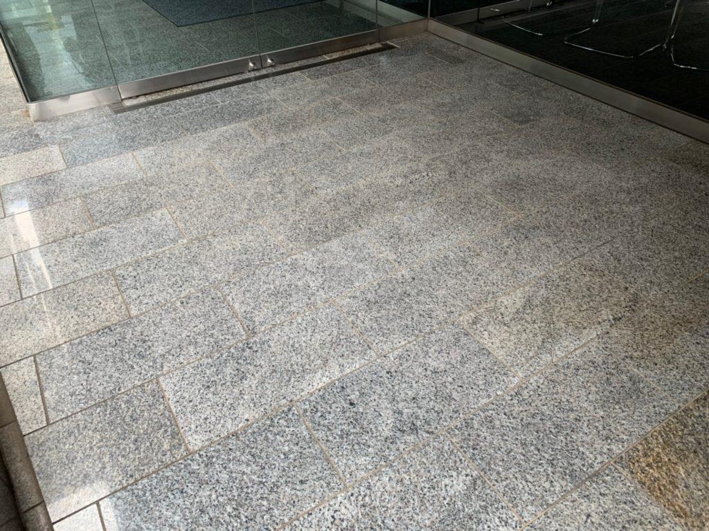 エントランス床防滑工事