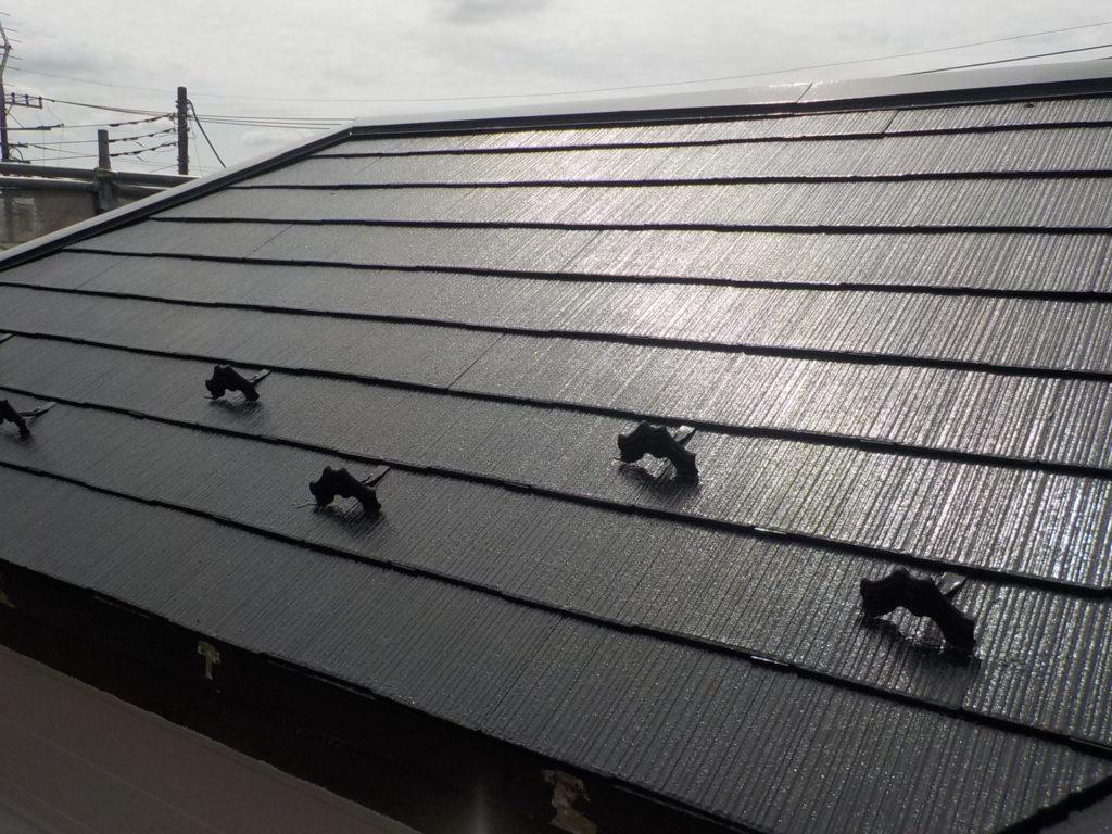 屋根施工後 屋根塗装