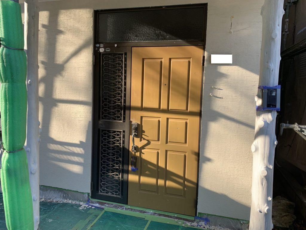 玄関ドアの交換工事