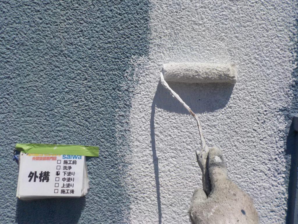 外壁塗装 下塗り ガイナ 日進産業
