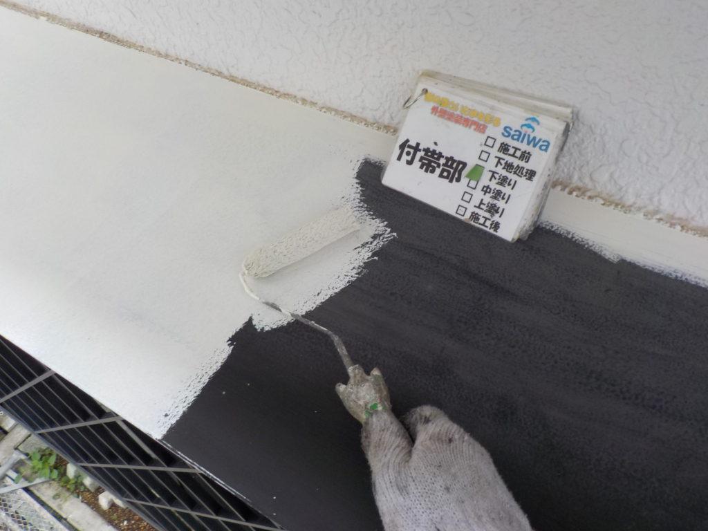さいたま市三橋 指扇 外壁塗装 サイワ塗装 付帯部 庇
