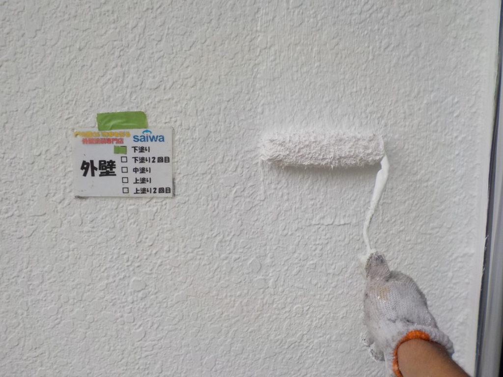さいたま市三橋 指扇 外壁塗装 サイワ塗装 外壁