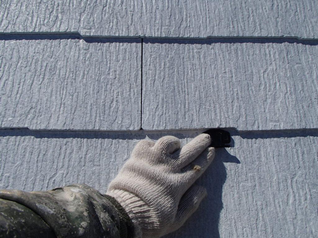 タスペーサー取付 屋根塗装