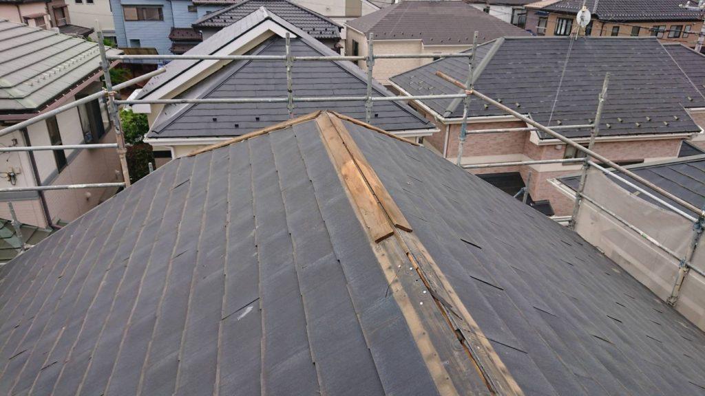 屋根 カバー工法 さいたま市西区 サイワ塗装工業