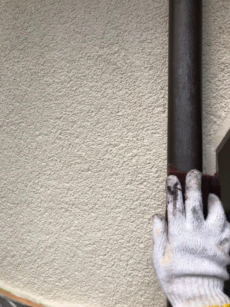 さいたま市中央区 外壁塗装 雨樋 ケレン