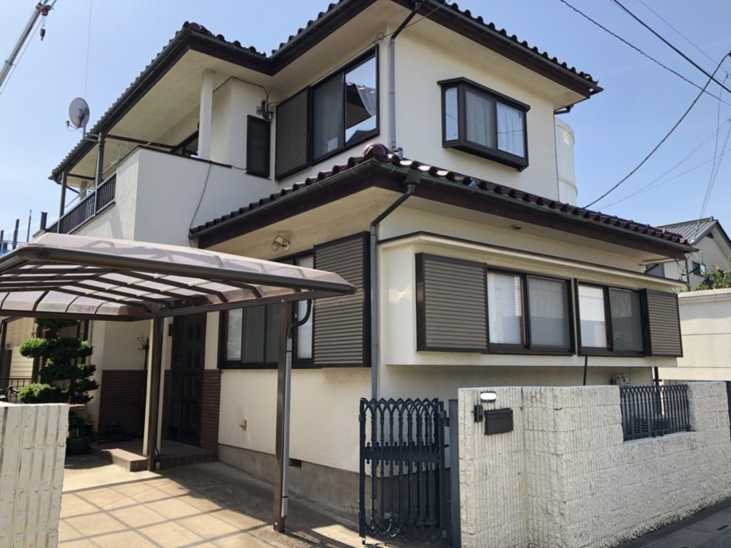 さいたま市本町 GAINA(ガイナ) 外壁外構塗装工事