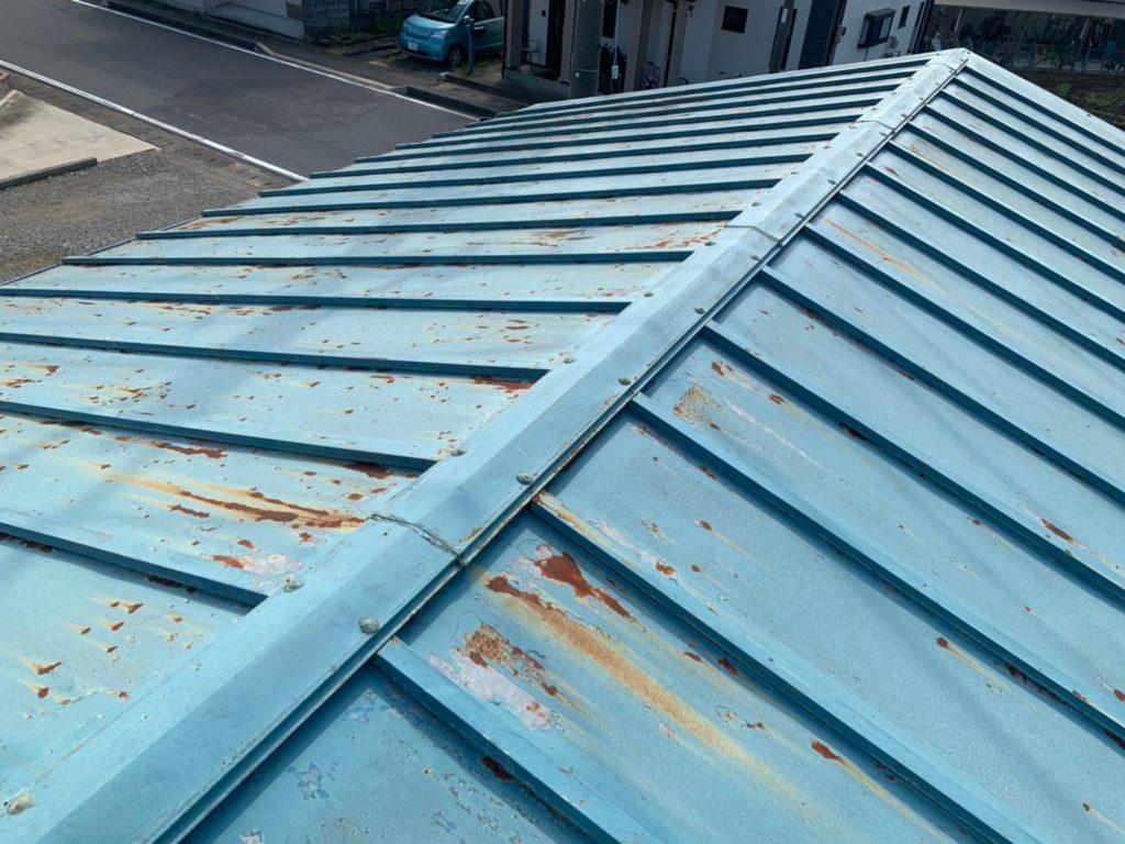 さいたま市西区 屋根塗装 トタン屋根