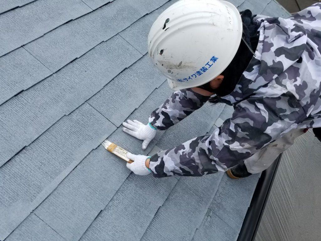 縁切り 屋根塗装