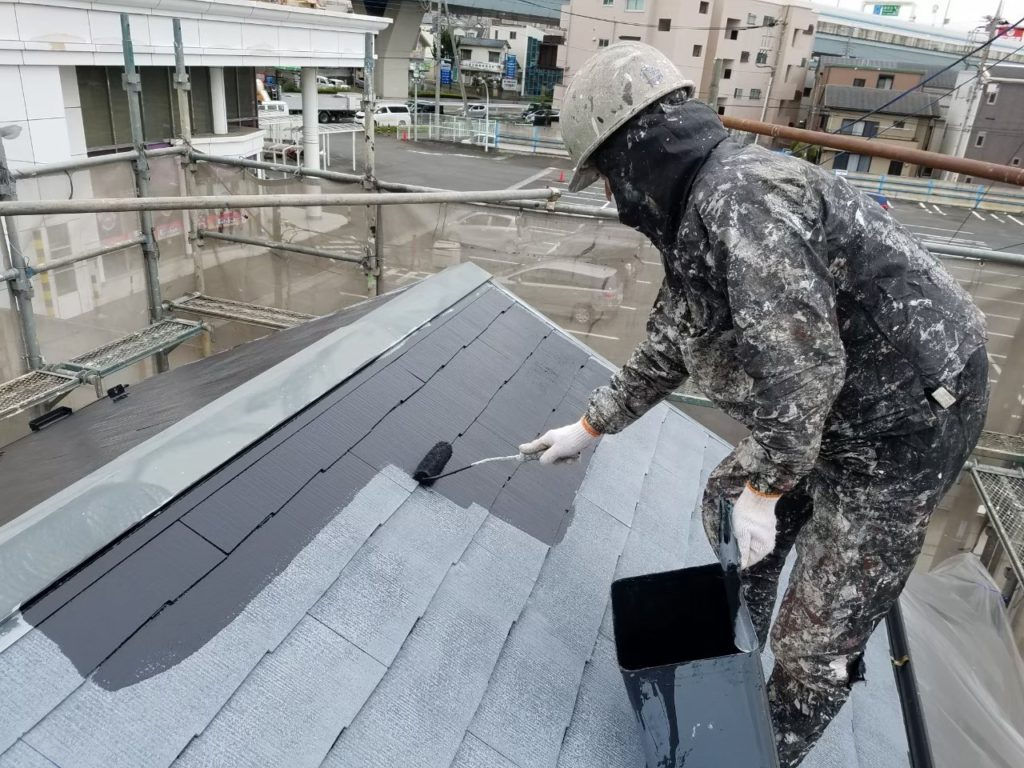 屋根塗装 アステック 遮熱塗装
