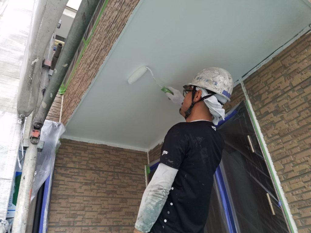 天井塗装 軒天塗装