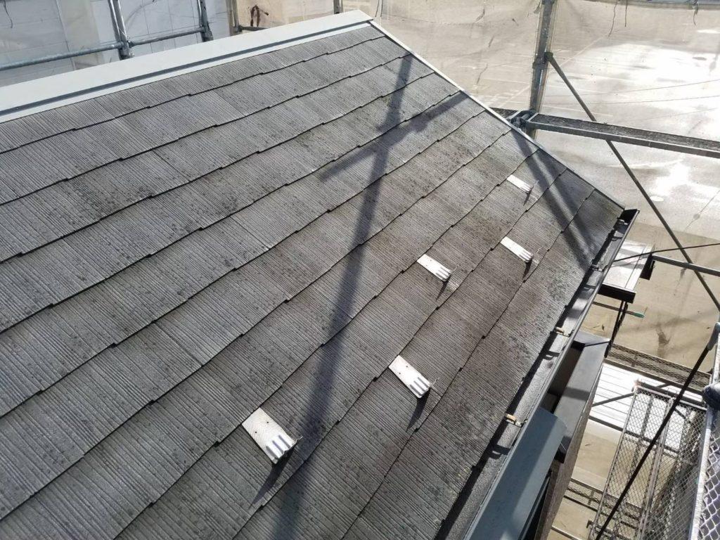 屋根施工前 屋根の塗装 リフォーム塗装