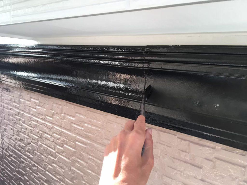 幕板塗装 下塗り 付帯部塗装