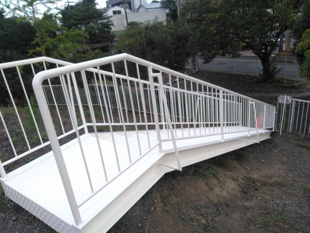 階段塗装 金属塗装 さいたま市西区 けやき台
