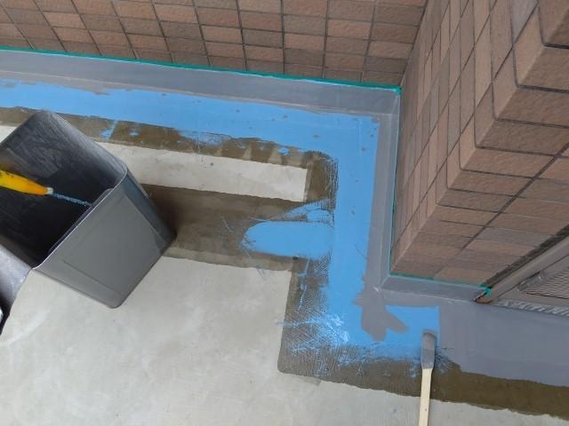 川越市 マンション廊下修繕 ウレタン防水